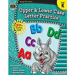 UPPER & LOWER CASE GRADE K READY-SET-LEARN
