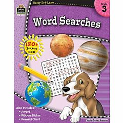 WORD SEARCHES GRADE 3 READY-SET-LEARN