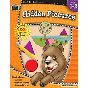 HIDDEN PICTURES GRADES 1-2 READY-SET-LEARN
