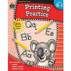 PRINTING PRACTICE GRADES K-1 READY-SET-LEARN
