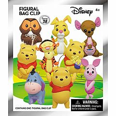 3D FOAM COLLECTIBLE KEYRING - DISNEY WINNIE THE POOH
