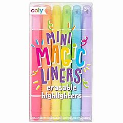MINI MAGIC LINERS ERASABLE HIGHLIGHTERS