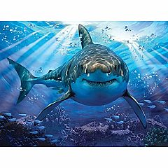 GREAT WHITE SHARK 500PC PUZZLE