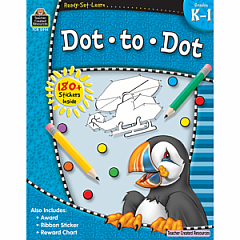 DOT-TO-DOT GRADES K-1 READY-SET-LEARN
