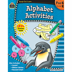 ALPHABET ACTIVITIES PRE-K AND K