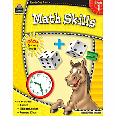 MATH SKILLS GRADE 1 READY-SET-LEARN