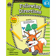 FOLLOWING DIRECTIONS GRADE K-1