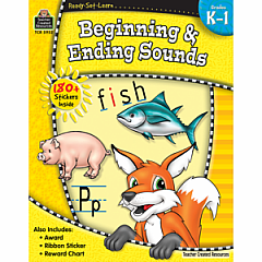 BEGINNING & ENDING SOUNDS GRADE K-1