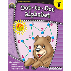 DOT TO DOT ALPHABET GRADE K