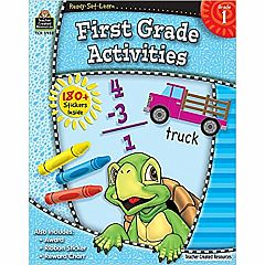FIRST GRADE ACTIVITES READY-SET-LEARN