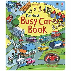 BUSY CAR PULL-BACK BOOK