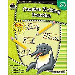 CURSIVE WRITING PRACTICE GRADES 2-3 READY-SET-LEARN