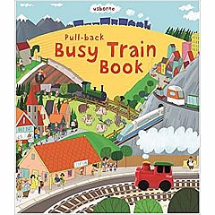 BUSY TRAIN PULL-BACK BOOK
