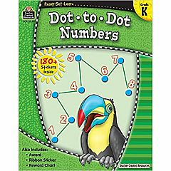 DOT-TO-DOT NUMBERS GRADE K READY-SET-LEARN