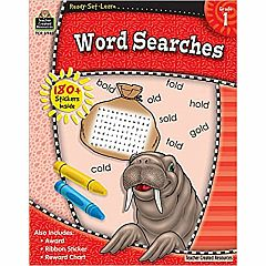 WORD SEARCHES GRADE 1 READY-SET-LEARN