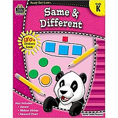 SAME & DIFFERENT GRADE K READY-SET-LEARN