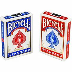 BICYCLE PLAYING CARDS STANDARD/JUMBO