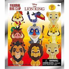 3D FOAM COLLECTIBLE KEYRING - DISNEY LION KING