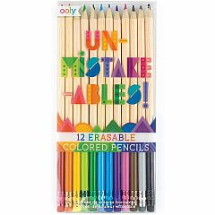 UN-MISTAKE-ABLES ERASABLE COLORED PENCILS