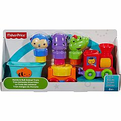INFANT RATTLE N ROLL ANIMAL TRAIN