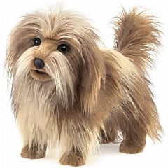 SHAGGY DOG HAND PUPPET