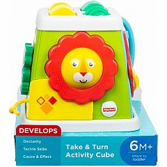 TAKE & TURN ACTIVITY CUBE