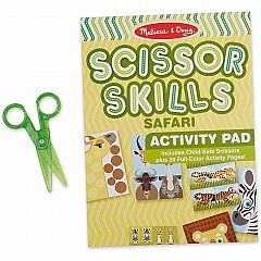 SAFARI SCISSOR SKILLS ACTIVITY PAD