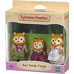 CALICO RED PANDA FAMILY