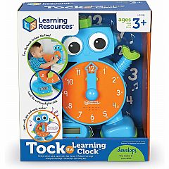 BLUE TOCK THE LEARNING CLOCK
