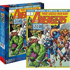 AVENGERS COVER 500PC PUZZLE