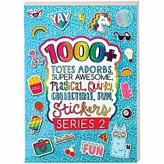 1000+M TOTES ADORBS SUPER AWESOME STICKERS