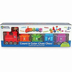 COLOR & COUNT CHOO CHOO