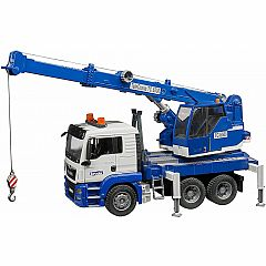 MAN TGS CRANE TRUCK WITH LIGHT AND SOUND
