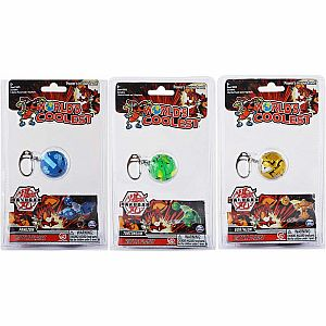 WORLD'S COOLEST BAKUGAN KEYCHAIN