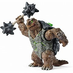 ARMORED TURTLE W/WEAPON SCHLEICH
