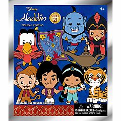 3D FOAM COLLECTIBLE KEYRING - DISNEY ALADDIN
