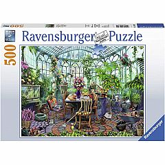 GREENHOUSE MORNING 500PC PUZZLE