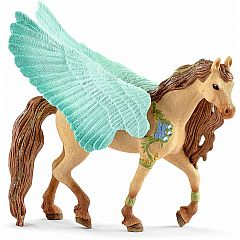 DECORATED PEGASUS STALLION SCHLEICH