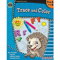 TRACE AND COLOR PREK-K READY-SET-LEARN