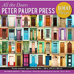 ALL THE DOORS 1000PC PUZZLE