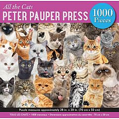 ALL THE CATS 1000PC PUZZLE