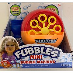 FUBBLES MINI BUBBLE MACHINE