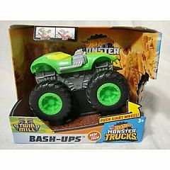 HOT WHEELS MONSTER TRUCKS BASH-UPS TWIN MILL