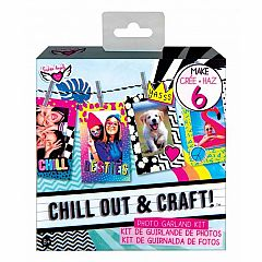 CHILL OUT & CRAFT PHOTO GARLAND KIT