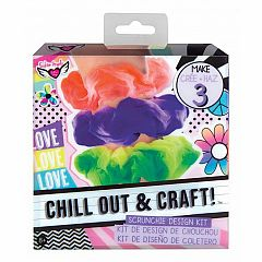 CHILL OUT & CRAFT SCRUNCHIE DESIGN KIT